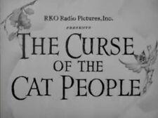 CURSE OF THE CAT PEOPLE, 1944, Simone Simon, Val Lewton classic: DVD-R Region 2