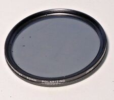 Used 62mm Vivitar Polarizer filter PL Thin Japan A
