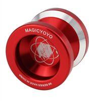 Magic Yo-Yo N8 Super Professional YoYo + String + Free Bag +Free Glove (Red) SH