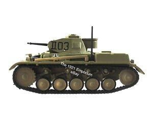 1:72 Diecast Metal Hobby Master WWII German Army Afrika Korps Panzer II