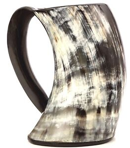 Best birthday gift Viking Drinking Horn Mug Tankard for beer ale large 1000 ml