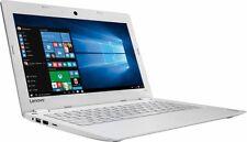 """Lenovo 110S-15IBR 11.6"""" Touchscreen Laptop (N3060, 2GB, 32GB, Win10, White)"""