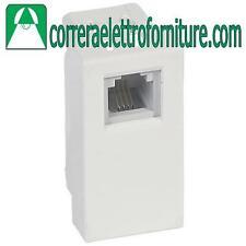 LEGRAND VELA Presa connettore telefonico RJ11 4/6 k10 bianco 687025