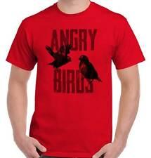 Angry Game Funny Birds Video Gaming Gamer Short Sleeve T-Shirt Tees Tshirts