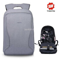 Tigernu New Men Business Laptop Backpack 14-17Inch Anti-Theft Travel School Bag
