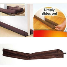 2Pcs Dual Double Draft Air Stopper Guard Door Window Draught Excluder Insulator