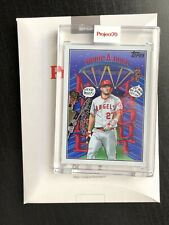 Mike Trout 2021 Topps Project 70 Card #489 W/Box By Snoop Dogg