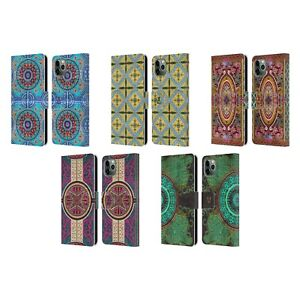 HEAD CASE ARABESQUE LEATHER BOOK WALLET CASE & WALLPAPER FOR APPLE iPHONE PHONES