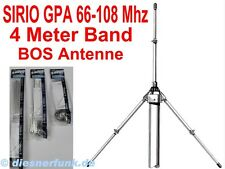 SIRIO GPA 66-108 Basis Antenne 4m VHF BOS Funk UKW Radio Piraten Sender Amateur