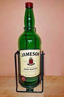 Jameson Irish Whiskey 4.5 L Empty Bottle with Cradle and Box