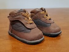 TIMBERLAND CRIB Bootie Baby Slip On Boots Brown Infant Size 1 Unisex