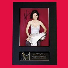 SHANIA TWAIN Signed Reproduction Autograph Mounted Photo Print A4 667