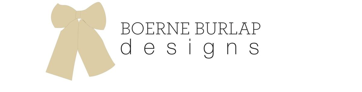 Boerne Burlap Designs