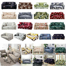1/2/3 Seater Elastic Sofa Covers Slipcover Settee Stretch Floral Couch Prot