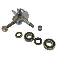 Crank Shaft Bearings Oil Seals Piston Bearing Set Fitment Husqvarna 61 268 272