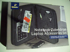 001#Notebook Zubehörset Tchibo 4-teilig