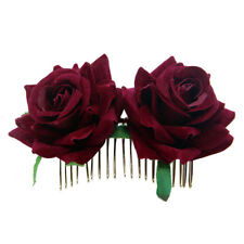 Blossom Rose Flower Hair Comb Clip Hairpin Vintage Style Hair Accessory
