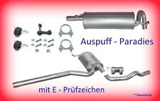 Abgasanlage Auspuff VW Passat 3B 1.8 Typ 3B2 & 3B5 (B5) 92KW ab Bj. 96 +Anbaukit