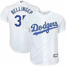 CODY BELLINGER LOS ANGELES DODGERS YOUTH LARGE 14/16 WHITE BOYS MLB JERSEY
