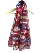 Ladies  New Design Colourful Feather Print Pashmina Scarf Wrap Shawl