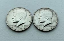 1974-D Kennedy Half Dollar Denver Mint Coins Lot of 2