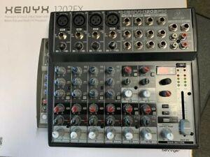behringer xenyx 1202 fx - Used