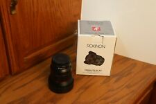 ROKINON 14mm f/2.8 AF FE Lens For Sony E Mount - Excellent Condition