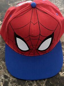 Spider Man Cap Marvel Spiderman Hat Snapback Adjustable