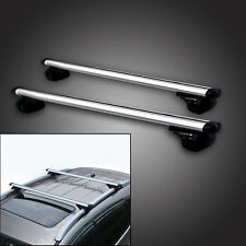 "Adjustable 48"" Car Suv Aluminum Roof Racks Crossbar Top Carrier Rail With Lock"