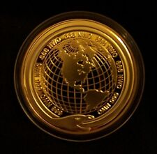 NWO Illuminati Secret Society Masonic ? Occult World Cult Order 666 X Coin Medal