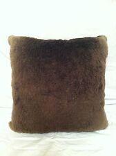 Genuine Long Sheared Beaver Fur Pillow