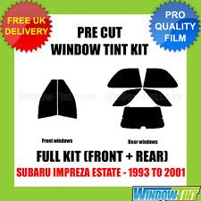 SUBARU IMPREZA ESTATE 1993-2001 FULL PRE CUT WINDOW TINT KIT