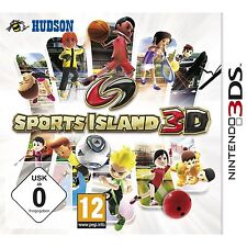 Nintendo 3DS Sports Island 10 Sportarten Team Player Mehrsprachig Fußball Tennis