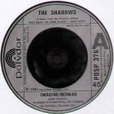 "SHADOWS ~ IMAGINE/WOMAN (MEDLEY) / HATS OFF TO WALLY ~ 1981 UK 7"" SINGLE"