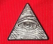 Mason Providencia OJO Pirámide Illuminati Masónico para planchar o Coser Parche