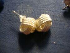 Sterling Silver Earrings Grandmas Estate 925