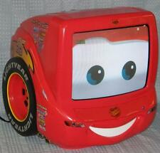 "Disney Cars Lightning Mcqueen 13""  TV /  DVD Player"