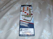 Set of Double Six Color Dot Dominoes