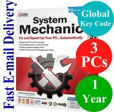IOLO System Mechanic 3 PCs / 1 Year (Unique Global Activation Code) 2020