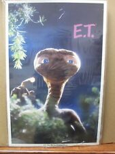 Vintage Poster E.T. The Extra-Terrestrial Movie 1982 Alien Inv#G430