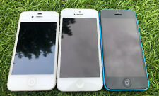 📱JOBLOT - SPARES/REPAIRS - IPHONE 4S WHITE, IPHONE 5S SILVER, IPHONE 5C BLUE📱