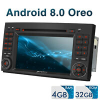 "7"" Pumpkin Android 8.0 4+ 32GB Autoradio DVD GPS DAB Für Benz A/B Vito W906 W169"