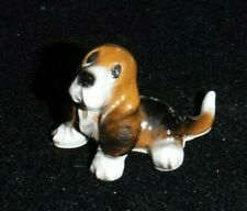 Miniature Figurines Basset Hound made in Md in Japan