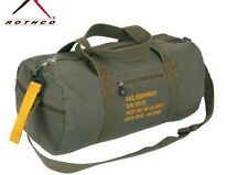 US ARMY Canvas Equipment Bag Sac de voyage sac à bandoulière Sac a Bandouliere Canvas #1