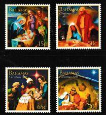 Christmas 2016 set of 4 mnh stamps Bahamas Nativity