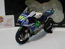 Minichamps 122143046 - Yamaha YZR-M1 No.46 Moto GP 2014 Valentino Rossi 1:12