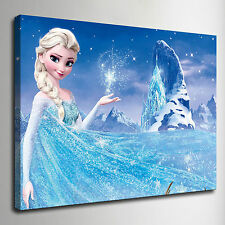 """Frozen Elsa disney 12""""*16"""" HD print on canvas home wall Adornment picture poster"""