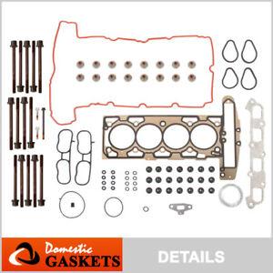 Fits 07-12 Chevrolet Corolado GMC Canyon Isuzu I-290 2.9L Head Gasket Set Bolts