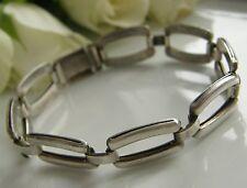 Designer Armband 835° Silber von Kollmar & Jourdan schlicht  Art Dèco 1930 Ar33