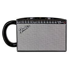 Classic Fender Rockstar Music Electric Guitar Amp Shaped Mug Novelty Tea Coffee